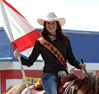 Another cowgirl in the parade.